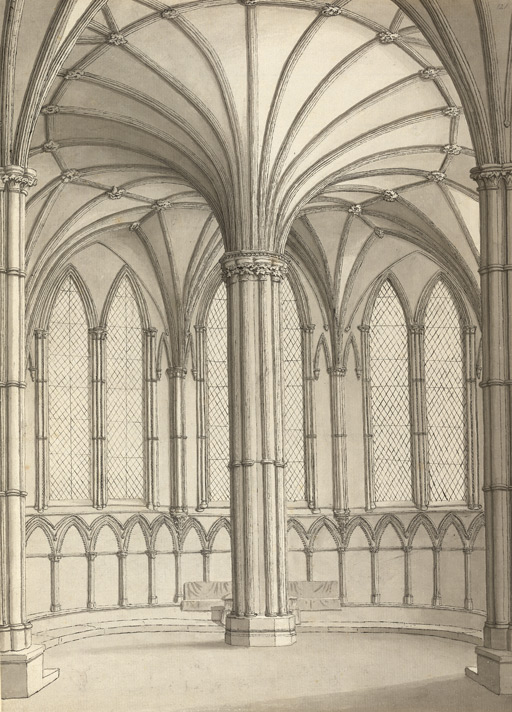 Lincoln Cathedral, chapterhouse f.121